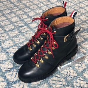 Urban Outfitters Leather Hiking Boots